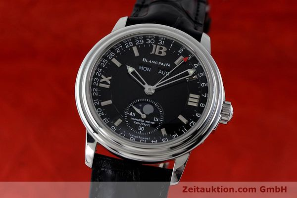 Used luxury watch Blancpain Leman steel automatic Kal. 6763  | 151885 04