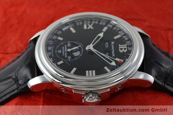 Used luxury watch Blancpain Leman steel automatic Kal. 6763  | 151885 05