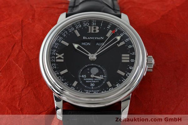 Used luxury watch Blancpain Leman steel automatic Kal. 6763  | 151885 16
