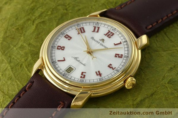 Used luxury watch Maurice Lacroix Classic Serie gold-plated automatic Kal. ETA 2824-2 Ref. 23293  | 151887 01