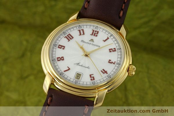 Used luxury watch Maurice Lacroix Classic Serie gold-plated automatic Kal. ETA 2824-2 Ref. 23293  | 151887 04