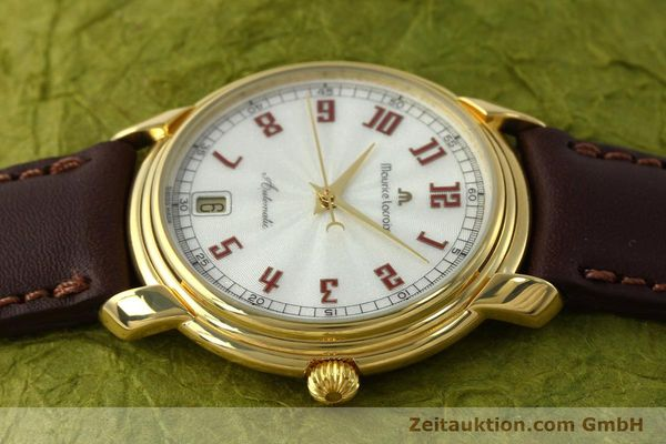 Used luxury watch Maurice Lacroix Classic Serie gold-plated automatic Kal. ETA 2824-2 Ref. 23293  | 151887 05