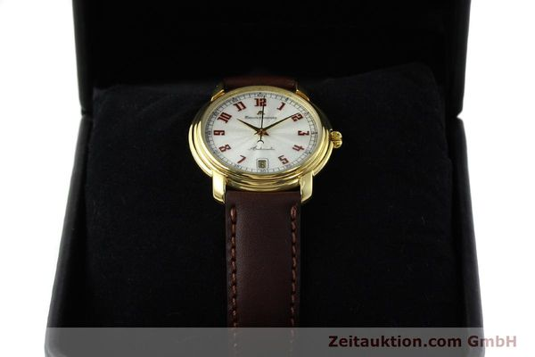 Used luxury watch Maurice Lacroix Classic Serie gold-plated automatic Kal. ETA 2824-2 Ref. 23293  | 151887 07