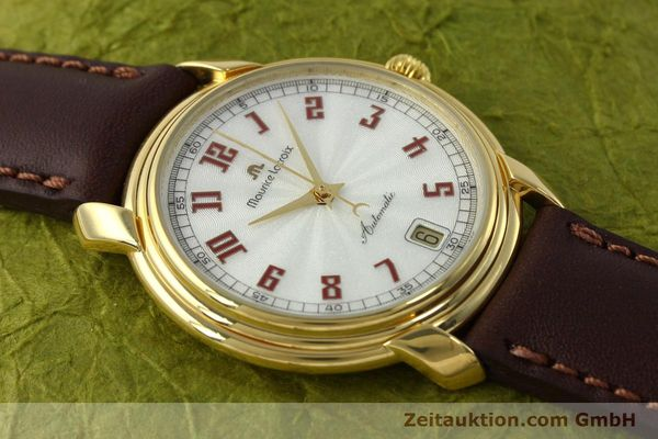 Used luxury watch Maurice Lacroix Classic Serie gold-plated automatic Kal. ETA 2824-2 Ref. 23293  | 151887 14