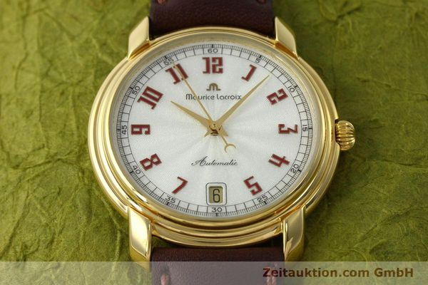 Used luxury watch Maurice Lacroix Classic Serie gold-plated automatic Kal. ETA 2824-2 Ref. 23293  | 151887 15