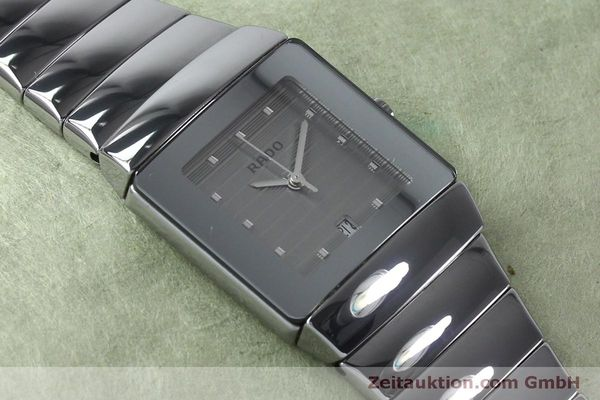 Used luxury watch Rado Sintra ceramic quartz Ref. 111.0333.3  | 151890 14