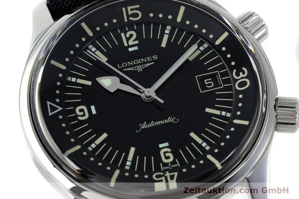 Used luxury watch Longines Legend Diver steel automatic Kal. L.633.5 ETA 2824-2 Ref. L3.674.4  | 151892 02