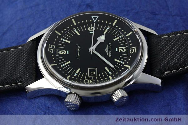 Used luxury watch Longines Legend Diver steel automatic Kal. L.633.5 ETA 2824-2 Ref. L3.674.4  | 151892 05
