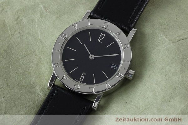 Used luxury watch Bvlgari Bvlgari steel quartz Kal. ETA 956412 Ref. BB30SLD  | 151893 01