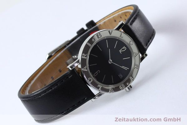 Used luxury watch Bvlgari Bvlgari steel quartz Kal. ETA 956412 Ref. BB30SLD  | 151893 03