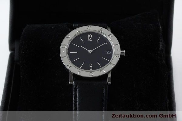 Used luxury watch Bvlgari Bvlgari steel quartz Kal. ETA 956412 Ref. BB30SLD  | 151893 07