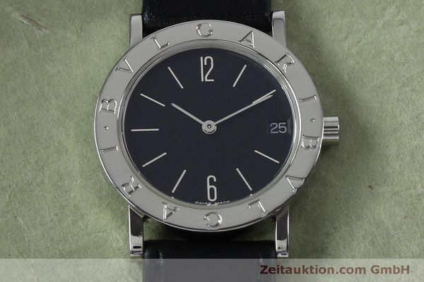 Used luxury watch Bvlgari Bvlgari steel quartz Kal. ETA 956412 Ref. BB30SLD  | 151893 12
