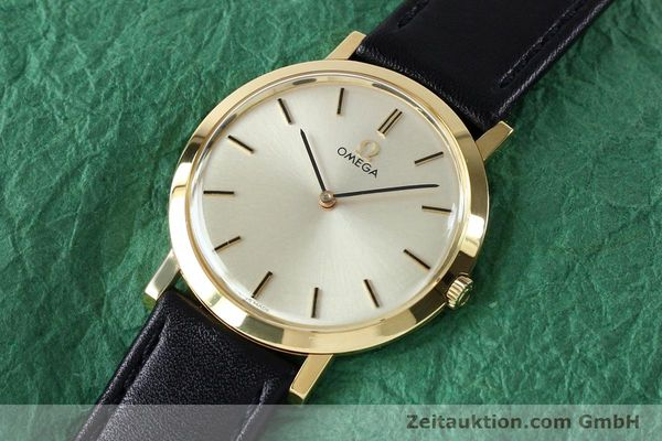 Used luxury watch Omega * 18 ct gold manual winding Kal. 620 VINTAGE  | 151896 01