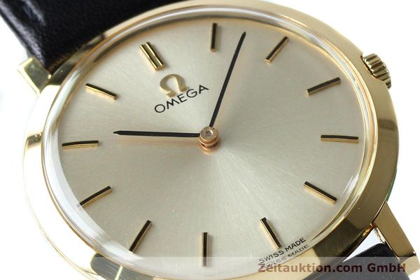 Used luxury watch Omega * 18 ct gold manual winding Kal. 620 VINTAGE  | 151896 02