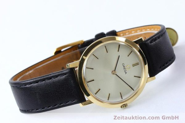 Used luxury watch Omega * 18 ct gold manual winding Kal. 620 VINTAGE  | 151896 03