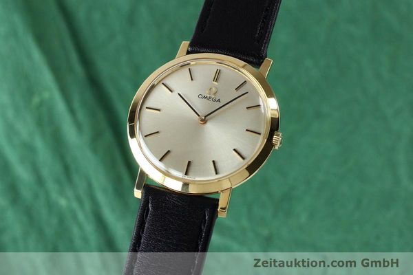 Used luxury watch Omega * 18 ct gold manual winding Kal. 620 VINTAGE  | 151896 04
