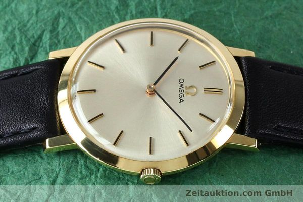 Used luxury watch Omega * 18 ct gold manual winding Kal. 620 VINTAGE  | 151896 05