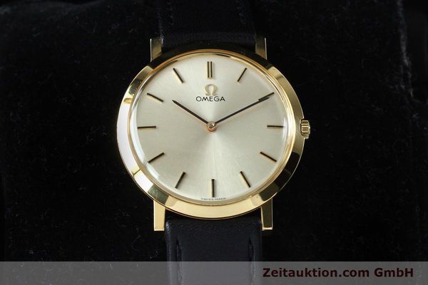 Used luxury watch Omega * 18 ct gold manual winding Kal. 620 VINTAGE  | 151896 07
