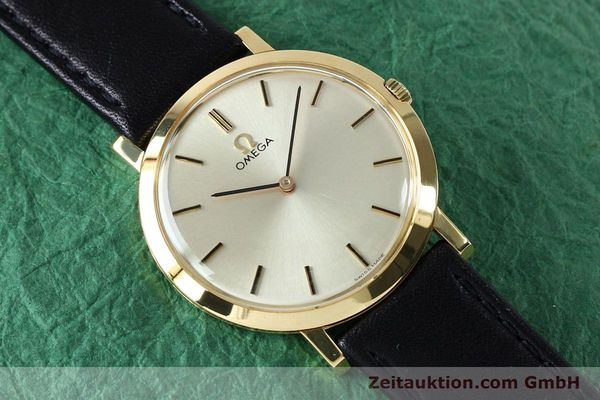 Used luxury watch Omega * 18 ct gold manual winding Kal. 620 VINTAGE  | 151896 13
