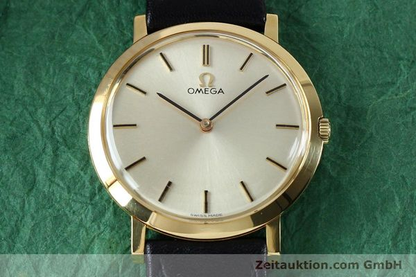 Used luxury watch Omega * 18 ct gold manual winding Kal. 620 VINTAGE  | 151896 14