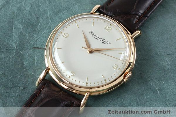 Used luxury watch IWC Portofino 18 ct gold manual winding Kal. 89 VINTAGE  | 151899 01