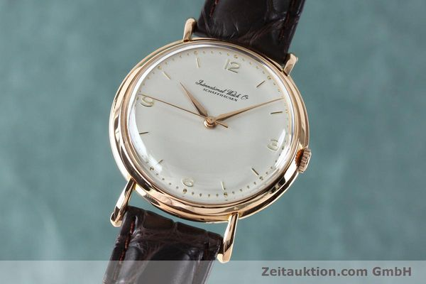 Used luxury watch IWC Portofino 18 ct gold manual winding Kal. 89 VINTAGE  | 151899 04