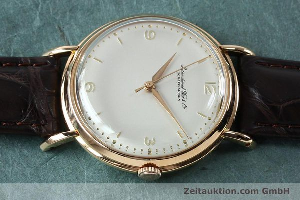 Used luxury watch IWC Portofino 18 ct gold manual winding Kal. 89 VINTAGE  | 151899 05