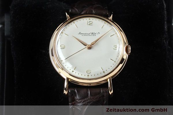 Used luxury watch IWC Portofino 18 ct gold manual winding Kal. 89 VINTAGE  | 151899 07