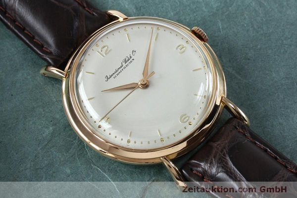 Used luxury watch IWC Portofino 18 ct gold manual winding Kal. 89 VINTAGE  | 151899 13