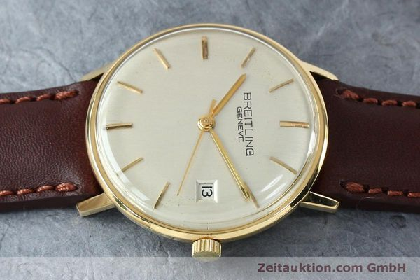 Used luxury watch Breitling * 18 ct gold automatic Kal. ETA 2472 Ref. 2615 VINTAGE  | 151903 05