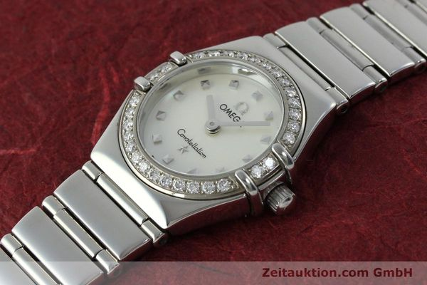 Used luxury watch Omega Constellation steel quartz Kal. 1456 Ref. 14657100  | 151912 01