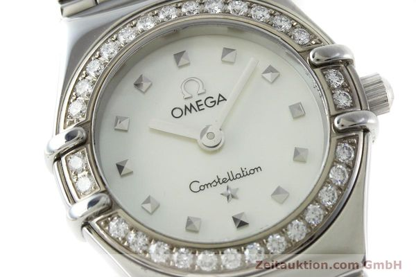 Used luxury watch Omega Constellation steel quartz Kal. 1456 Ref. 14657100  | 151912 02