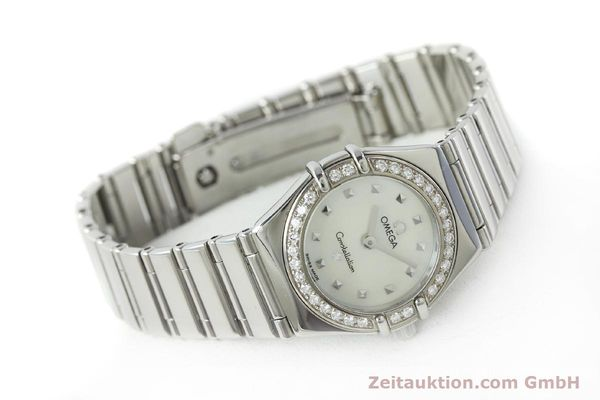 Used luxury watch Omega Constellation steel quartz Kal. 1456 Ref. 14657100  | 151912 03