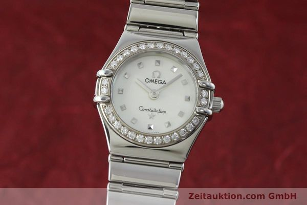 Used luxury watch Omega Constellation steel quartz Kal. 1456 Ref. 14657100  | 151912 04