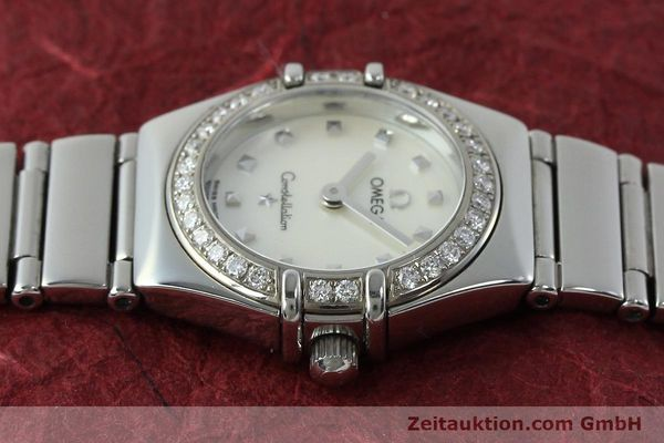 Used luxury watch Omega Constellation steel quartz Kal. 1456 Ref. 14657100  | 151912 05