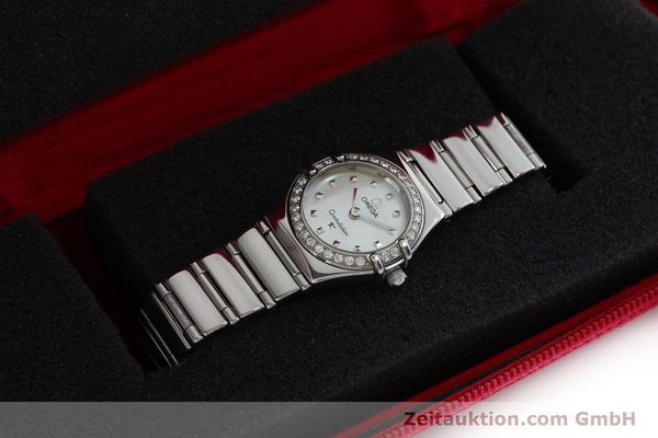 Used luxury watch Omega Constellation steel quartz Kal. 1456 Ref. 14657100  | 151912 07