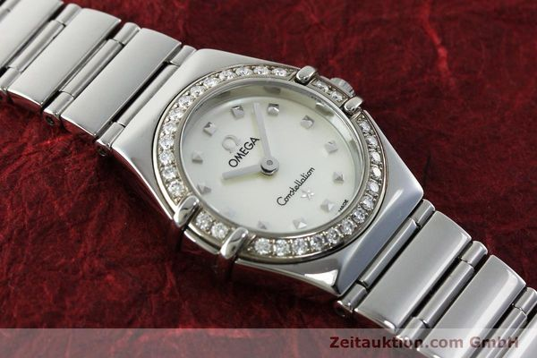 Used luxury watch Omega Constellation steel quartz Kal. 1456 Ref. 14657100  | 151912 12