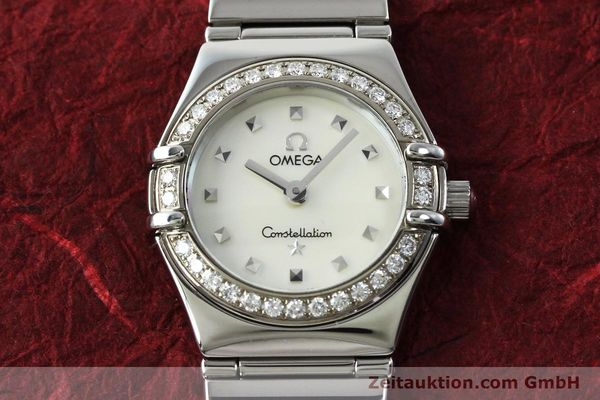 Used luxury watch Omega Constellation steel quartz Kal. 1456 Ref. 14657100  | 151912 13
