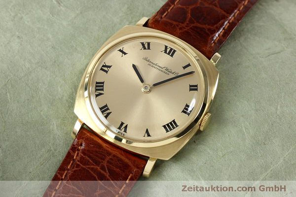Used luxury watch IWC * 18 ct gold manual winding Kal. 422 Ref. 1418 VINTAGE  | 151913 01