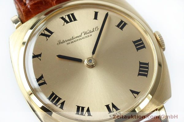 Used luxury watch IWC * 18 ct gold manual winding Kal. 422 Ref. 1418 VINTAGE  | 151913 02