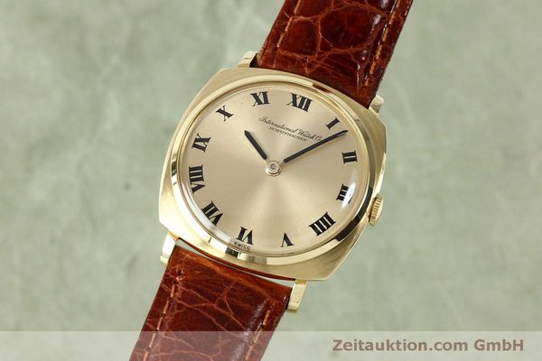 Used luxury watch IWC * 18 ct gold manual winding Kal. 422 Ref. 1418 VINTAGE  | 151913 04