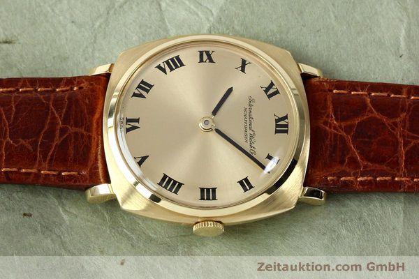 Used luxury watch IWC * 18 ct gold manual winding Kal. 422 Ref. 1418 VINTAGE  | 151913 05