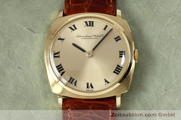 Used luxury watch IWC * 18 ct gold manual winding Kal. 422 Ref. 1418 VINTAGE  | 151913 15