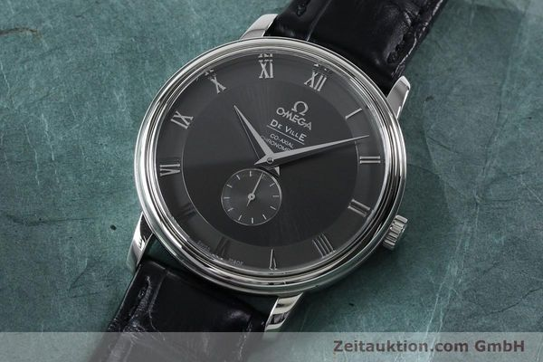 Used luxury watch Omega De Ville steel automatic Kal. 2202A Ref. 48134001  | 151917 01