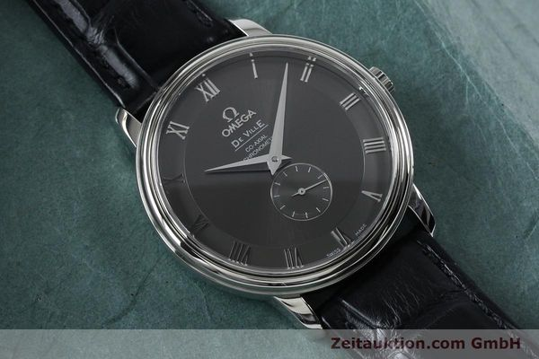 Used luxury watch Omega De Ville steel automatic Kal. 2202A Ref. 48134001  | 151917 15