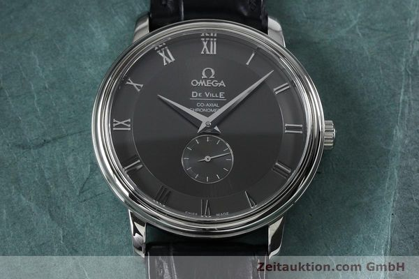 Used luxury watch Omega De Ville steel automatic Kal. 2202A Ref. 48134001  | 151917 16