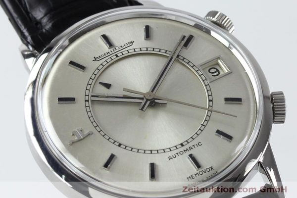 Used luxury watch Jaeger Le Coultre Memovox steel automatic Kal. 916 Ref. 675.42 VINTAGE  | 151920 02
