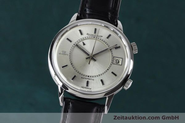 Used luxury watch Jaeger Le Coultre Memovox steel automatic Kal. 916 Ref. 675.42 VINTAGE  | 151920 04