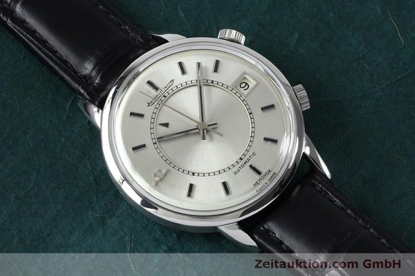 Used luxury watch Jaeger Le Coultre Memovox steel automatic Kal. 916 Ref. 675.42 VINTAGE  | 151920 12