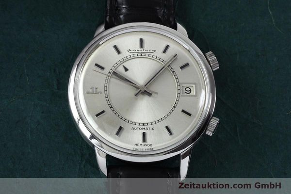 Used luxury watch Jaeger Le Coultre Memovox steel automatic Kal. 916 Ref. 675.42 VINTAGE  | 151920 13